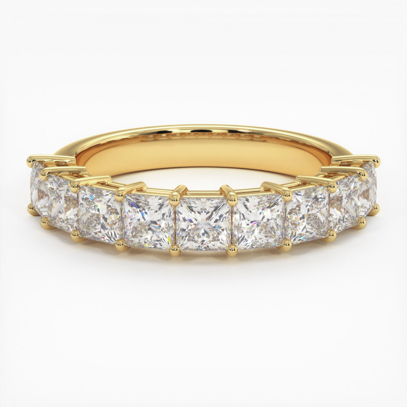 Solitaire Diamant SATINE Or Blanc 1.50 Carat