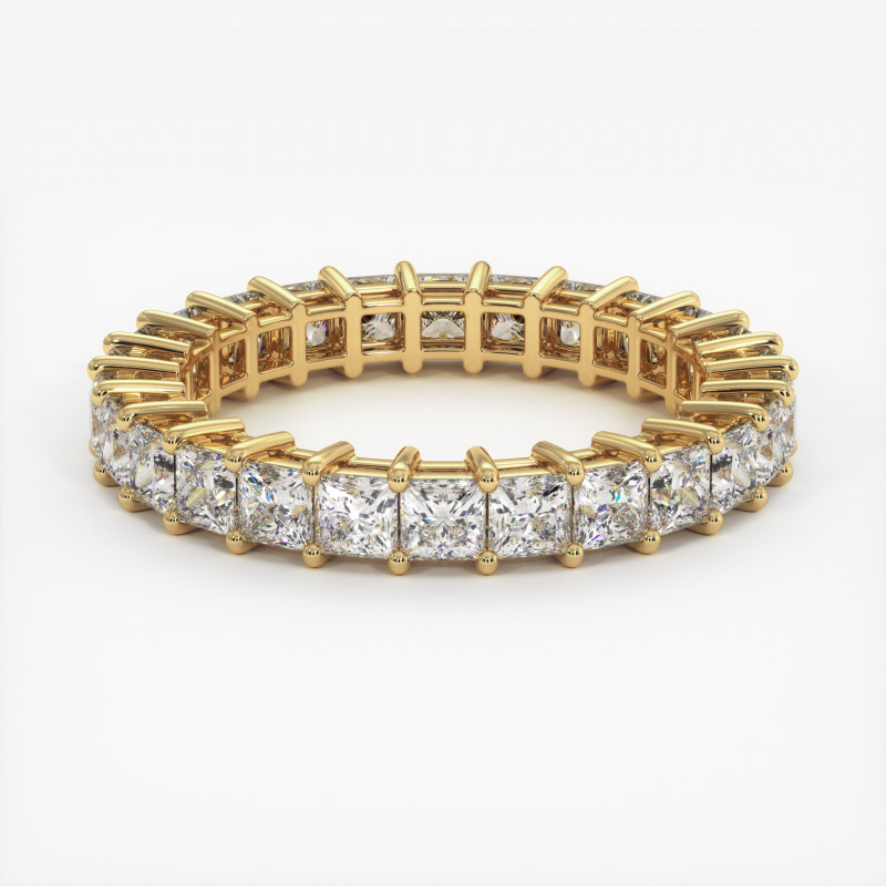 Solitaire Diamant SATINE Or Blanc 0.80 Carat
