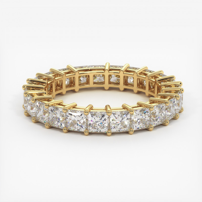 Solitaire Diamant SATINE Or Jaune 1.50 Carat