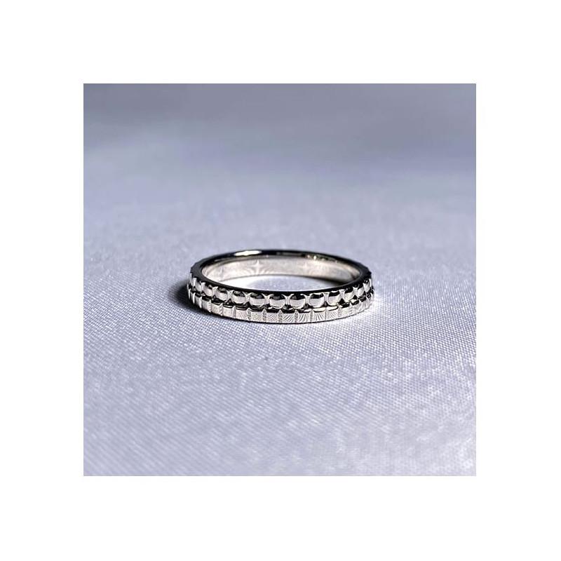 Solitaire Diamant SATINE Or Jaune 0.50 Carat