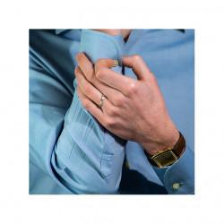 Bague Haute Joaillerie RUE DE LA PAIX en Or Blanc 18K, 750/1000 sertie de diamants 1.51 carats