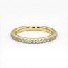 Alliance Mariage JONC Parisien Prestige Platine 4.50 mm