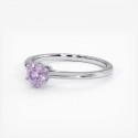 Alliance Mariage DEMI JONC Prestige Platine 3.00 mm