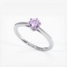 Alliance Mariage DEMI JONC Prestige Platine 2.50 mm