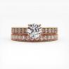 Solitaire Diamant SOLEEN Platine 0.30 Carat
