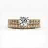 Solitaire Diamant SOLEEN Or Blanc 0.30 Carat
