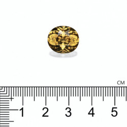 BOUCLES D'OREILLES DIAMANTS 1.50 CARATS  ETERNITY OR ROSE 18K - 750/1000