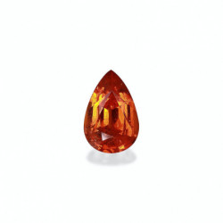 BOUCLES D'OREILLES DIAMANTS 5.00 CARATS REINE OR BLANC 18K - 750/1000