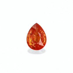 BOUCLES D'OREILLES DIAMANTS 5.00 CARATS  REINE OR ROSE 18K - 750/1000