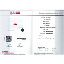DEMI ALLIANCE DIAMANTS ELLE OR ROSE 18K - 750/1000