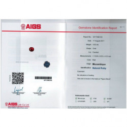 DEMI ALLIANCE DIAMANTS MON TRESOR OR BLANC 18K - 750/1000