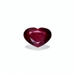 Bracelet Rivière Or blanc 750/1000 Rubis AAA 3.00 Carats