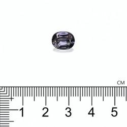 SOLITAIRE ANNIVERSAIRE ANNA EMERAUDE PLATINE 950/1000