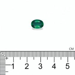 SOLITAIRE ANNIVERSAIRE ELLE PERIDOT OR JAUNE 18K 750/1000