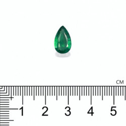 SOLITAIRE ANNIVERSAIRE ELLE RUBIS PLATINE 950/1000