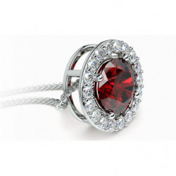 Bracelet Diamants et Rubis G/VS 6.00 Carats