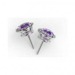 Bracelet Rivière diamants princesse G/SI 16.00 Carats