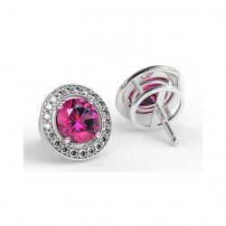 Bracelet Rivière diamants princesse G/SI 6.50 Carats