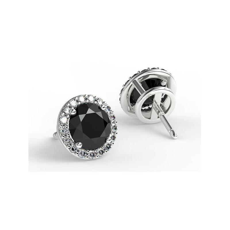 Solitaire Diamant ELLE Platine 1.40 Carat
