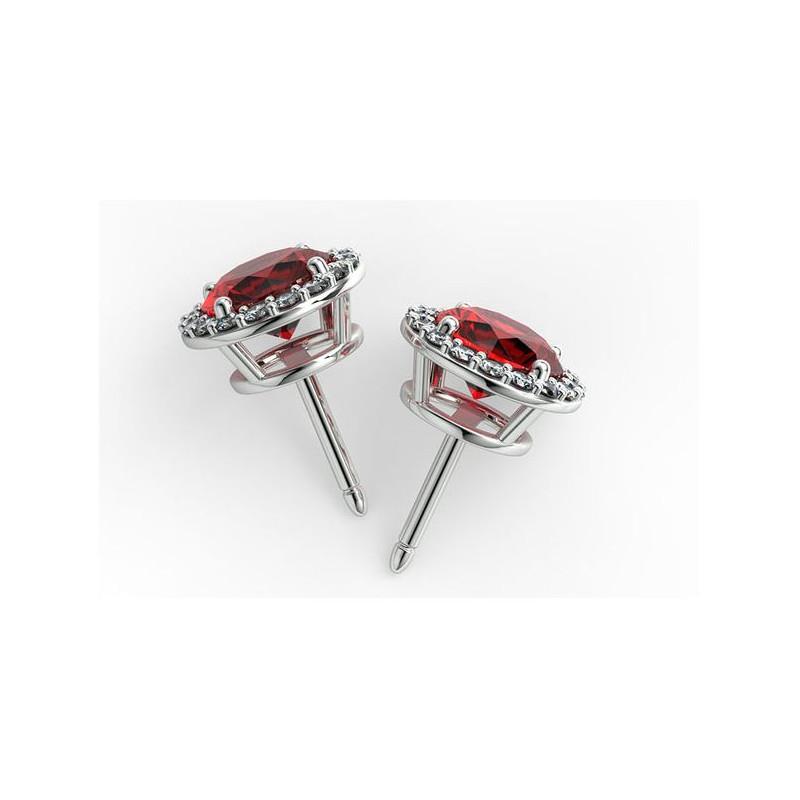 Solitaire Diamant ELLE Platine 0.60 Carat