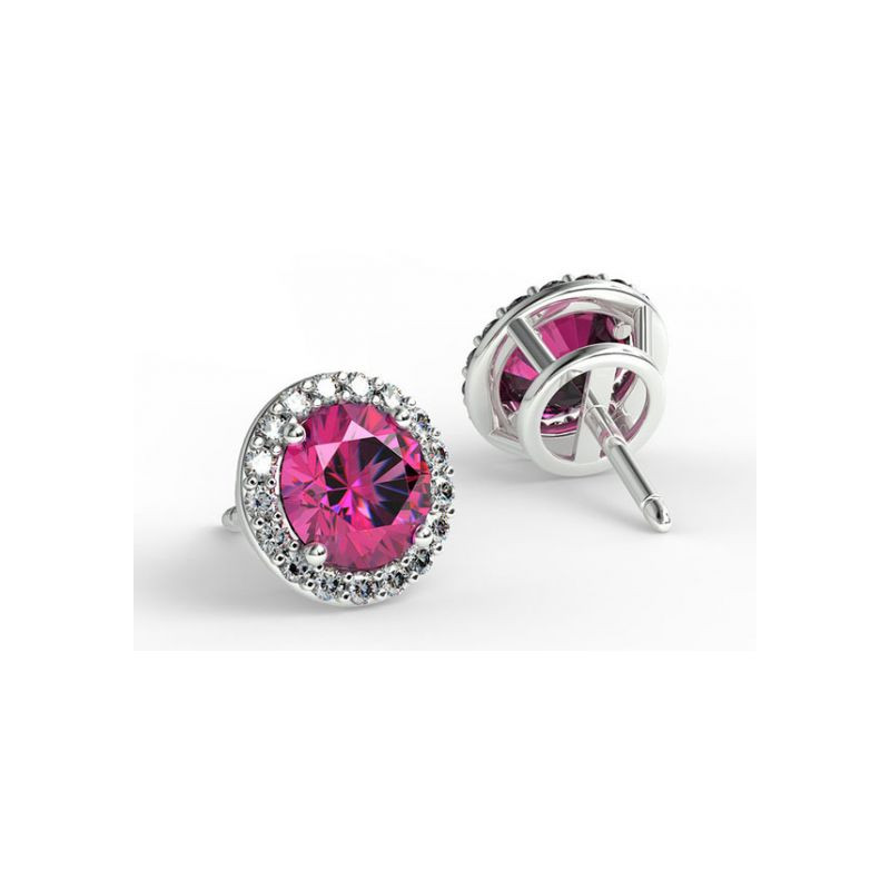 Solitaire Diamant ELLE Or Blanc 0.90 Carat