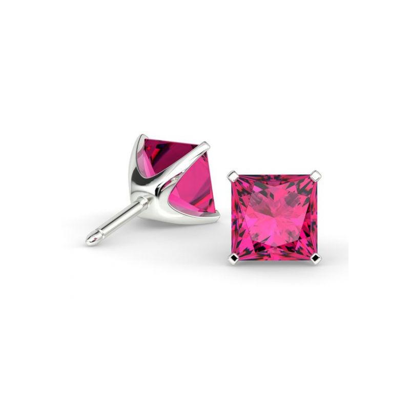 lisse fournisseur officiel dernière collection Alliance Diamant 2 griffes Or Blanc 3.00 Carats - Collection Bijoux Celinni