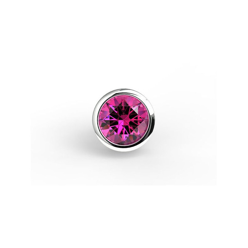 Alliance Diamant 2 griffes Or Blanc 4.00 Carats