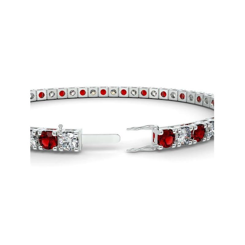 Alliance Diamants 4 Grains Platine 1.00 Carat