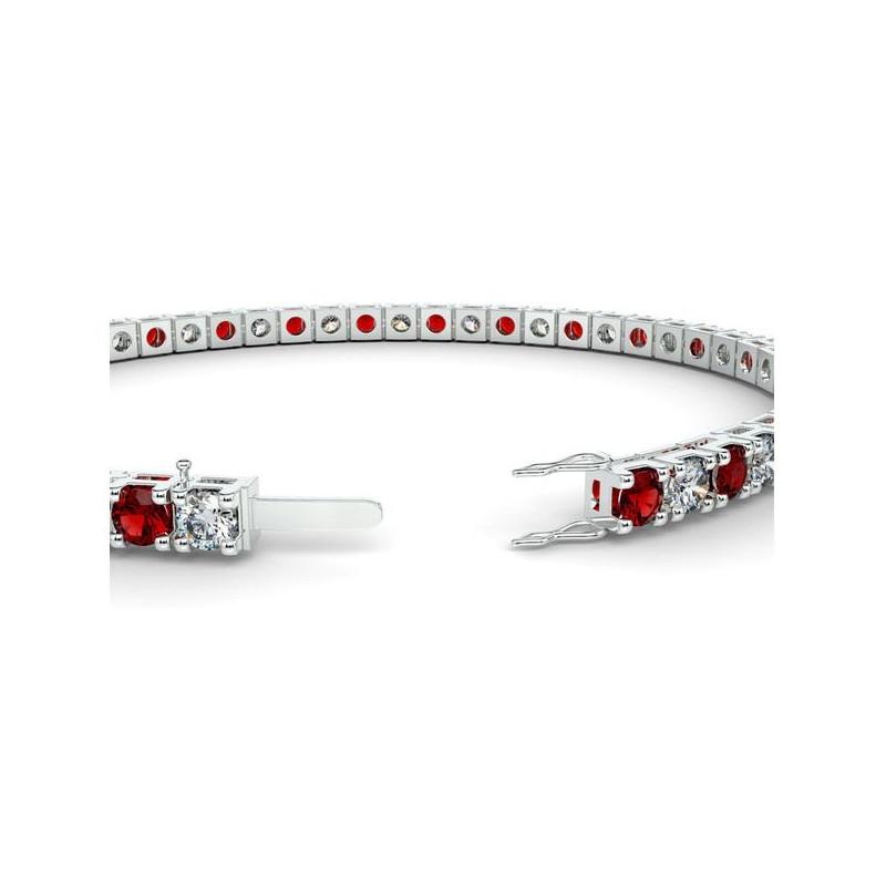 Alliance Diamants 4 Grains Platine 1.50 Carats