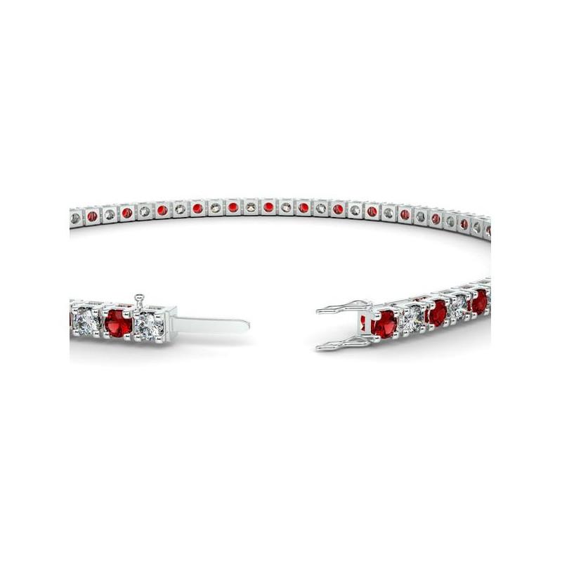 Alliance Diamants 4 Grains Platine 0.25 Carat