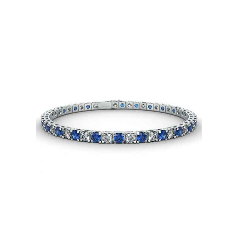 Alliance Diamants noirs 4 Grains Or Blanc 2.00 Carats