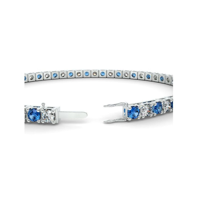 Alliance Diamants verts 4 Grains Or Blanc 0.50 Carat