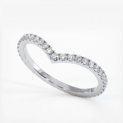 Alliance Diamants Princesses Rail Or Rose 1.00 Carat
