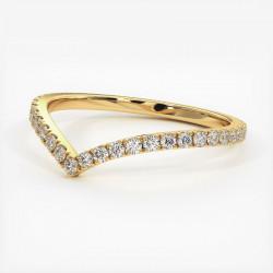 Alliance Diamants Princesses Rail Or Rose 1.50 Carats
