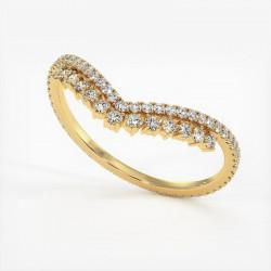 Alliance Diamants Princesses Rail Platine 3.00 Carats