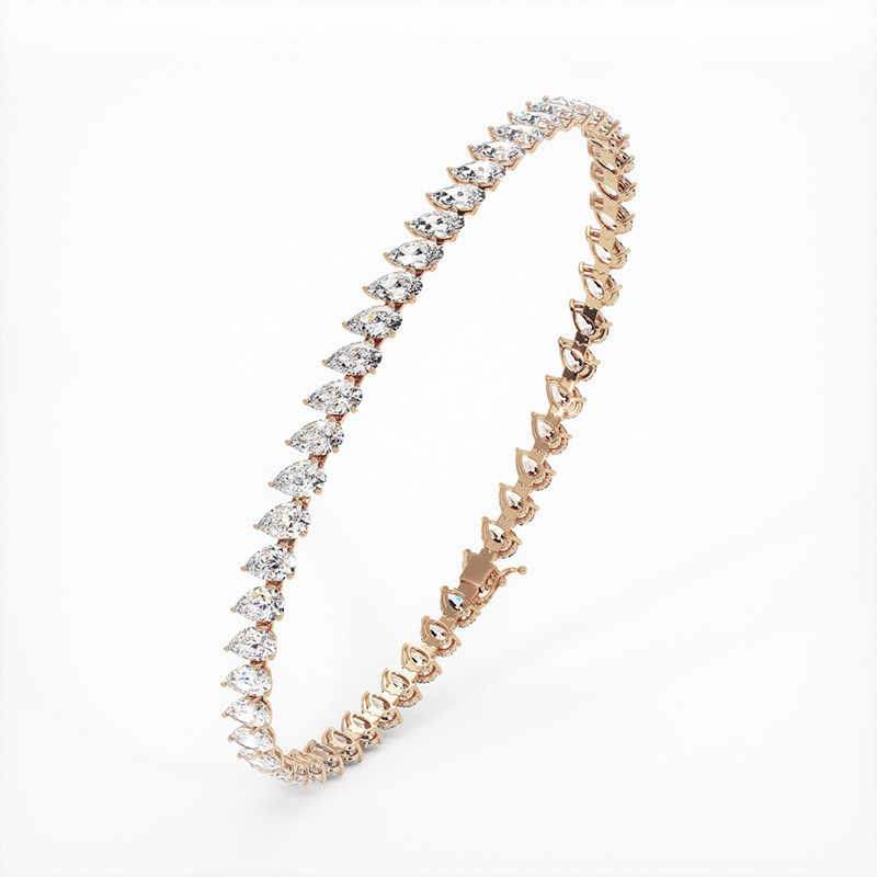 Alliance Diamants Princesses Rail Or Blanc 2.00 Carats