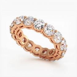 Demi Alliance Diamants Saphirs Bleus Princesses Rail Or Jaune 2.00 Carats