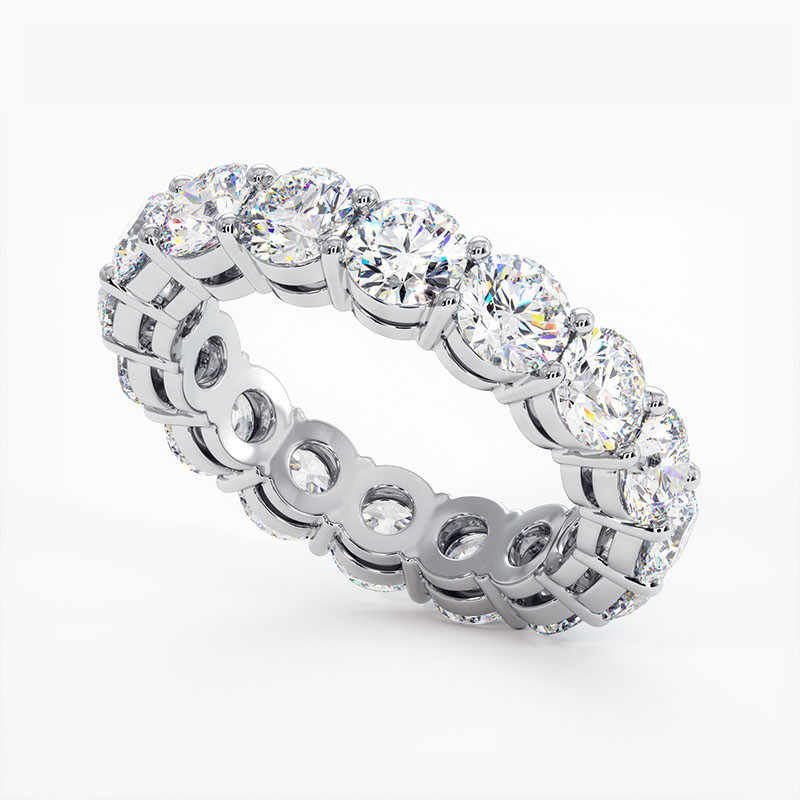 Demi Alliance Diamants Rubis Princesses Rail Or Jaune 2.00 Carats