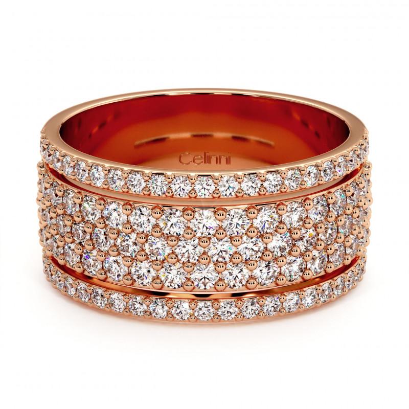 Solitaire Diamant LAURE Or Blanc Palladié 1.36 Carats