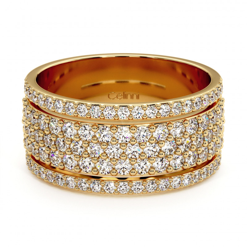 Solitaire Diamant LAURE Or Jaune 1.00 Carat