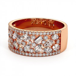 Solitaire Diamant LAURE Or Jaune 1.36 Carats