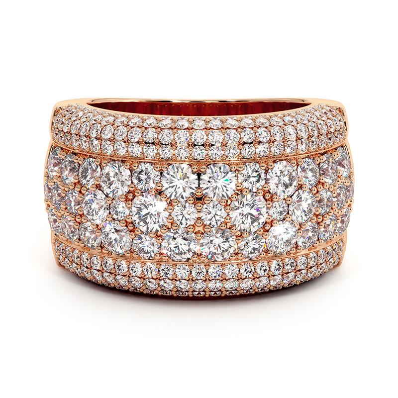 Solitaire Diamant LENA Platine 2.00 Carats