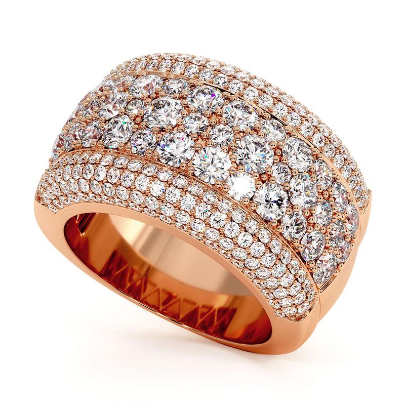 Solitaire Diamant LENA Platine 2.20 Carats