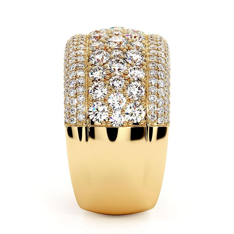 Solitaire Diamant LENA Or Blanc Palladié 1.70 Carats