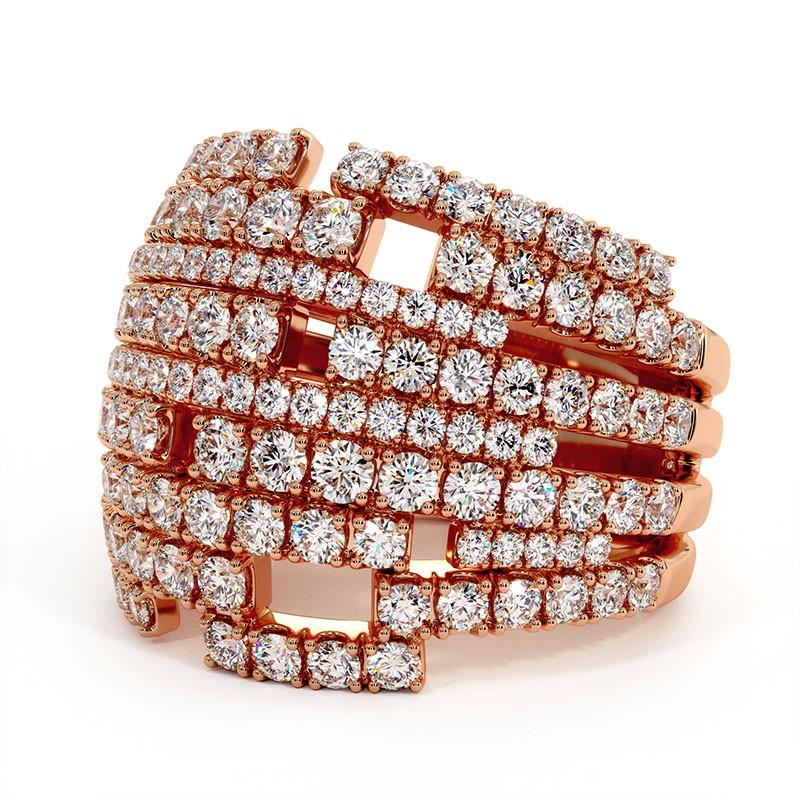 Solitaire Diamant LENA Or Jaune 2.00 Carats
