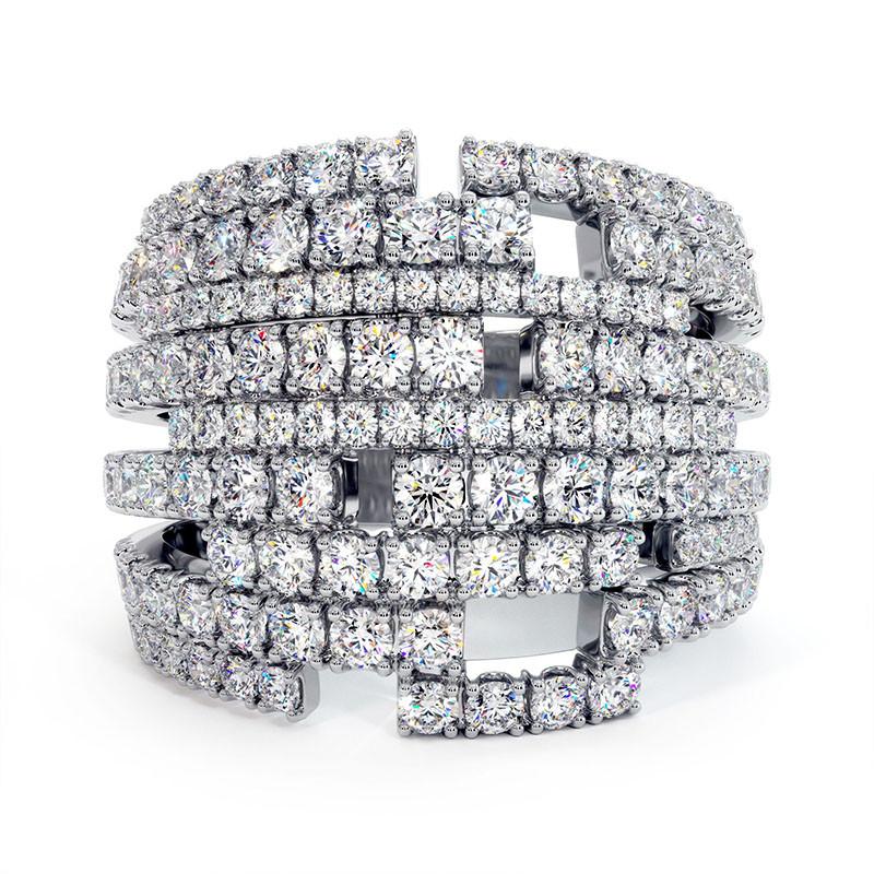 Solitaire Diamant LENA Or Jaune 2.20 Carats