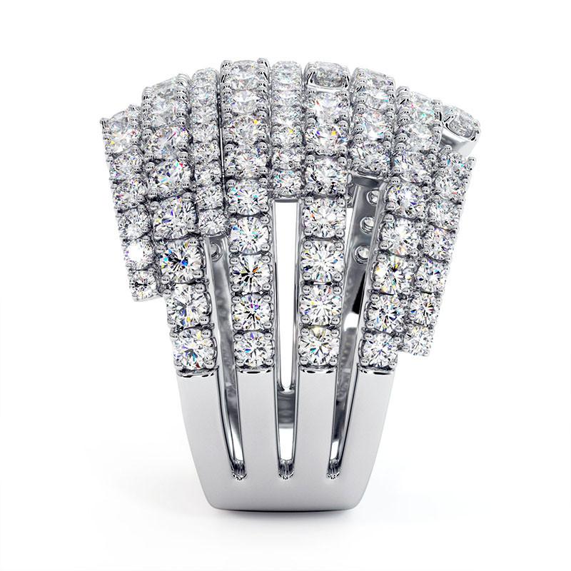 Solitaire Diamant LENA Or Jaune 2.70 Carats