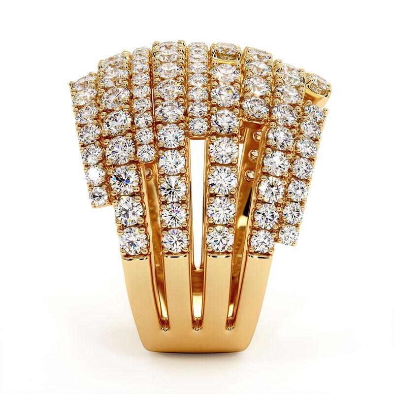 Solitaire Diamant MON AMOUR Platine 1.50 Carats