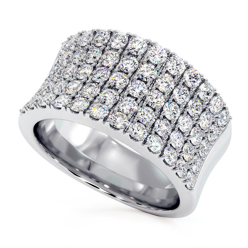 Solitaire Diamant MON AMOUR Platine 1.00 Carat