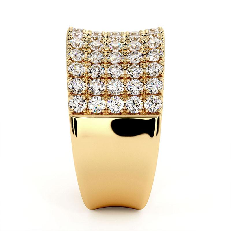 Solitaire Diamant MON AMOUR Platine 1.20 Carats